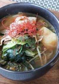 おうちでお鍋!韓国風コチュジャン鍋