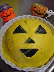 ハロウィンにりんごとかぼちゃのズコット⑤の写真