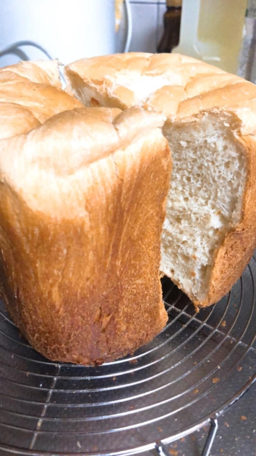 ふわモチ☆米粉入り食パン