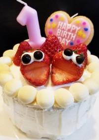 離乳食☆一歳の誕生日ケーキ☆