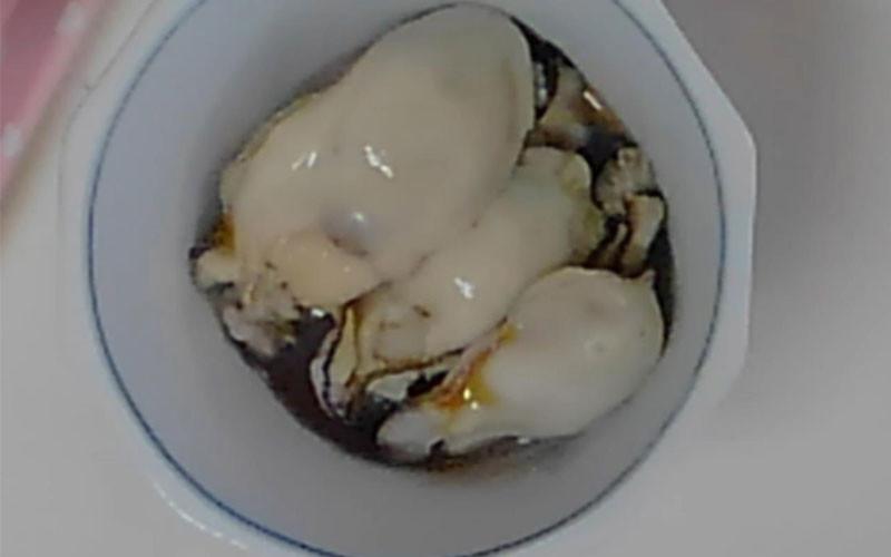 ホットクックで蒸し牡蠣(かき)