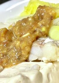 湯豆腐も鱈ちりも、タレはこれで決まり!