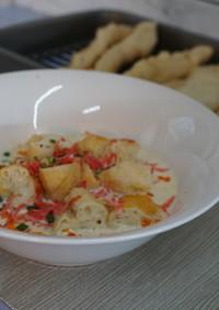 台湾豆乳スープ ・鹹豆漿シェントウジャン