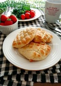 冷凍作りおき☆メロンパン風トースト。