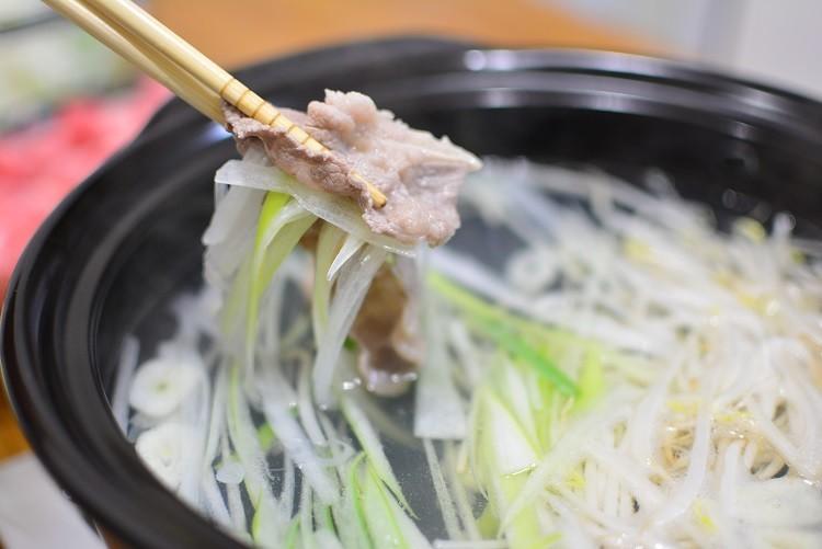 風邪予防鍋♬ネギ豚しゃぶしゃぶ★