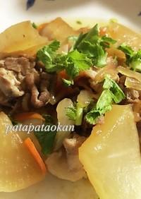 豚肉と大根の生姜焼き