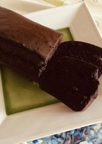 ほろ苦い♡ブラックココアのパウンドケーキ