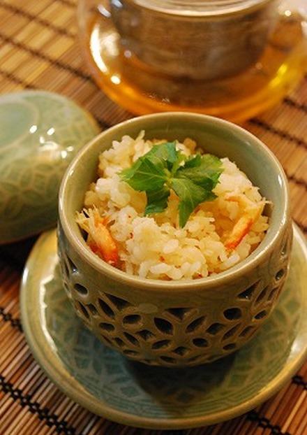 簡単!蟹缶de炊き込みご飯