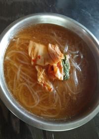 完コピ冷麺スープ