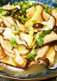 豆腐と生椎茸のあんかけ