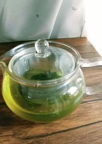 美味しい緑茶の入れ方♪(覚書)