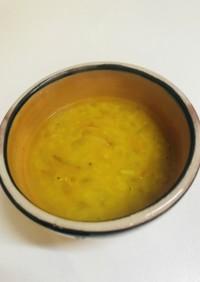 ベンガル風レンズ豆(ダール)スープ