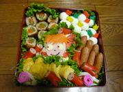 2008運動会お弁当☆キャラ弁☆ぽにょの写真