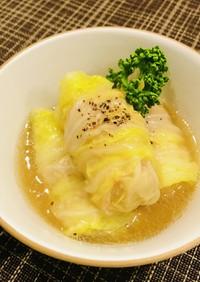 簡単!白菜と豚バラのロール煮