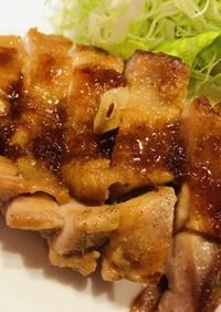 チキンのガーリックステーキ