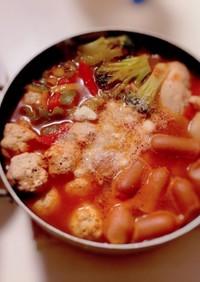 トマト鍋に合う!イタリアン鶏団子