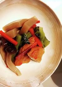 小松菜と練り物の煮物