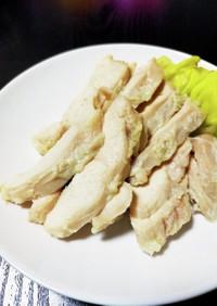 ♪鶏ムネ肉で塩麹サラダチキン♪