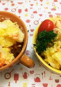 炊飯器で柔らか簡単ポテトサラダ