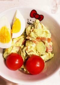 卵とエビとアボカドのマヨサラダ