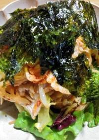 低糖質☆豚バラの韓国風サラダ