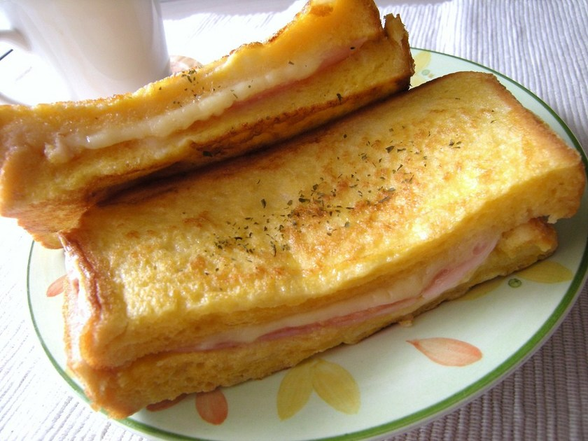 クロックムッシュ♡♥ハム&チーズ