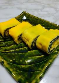 黄ニラの海苔巻き卵焼き