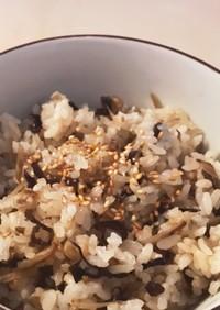 雪平鍋でつくる炊き込みご飯#1