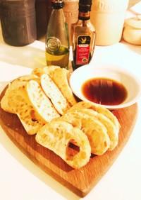 簡単オリーブオイル&バルサミコ酢ディップ