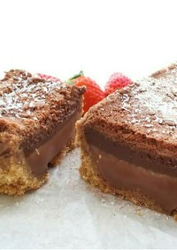 簡単チョコレートムースタルト