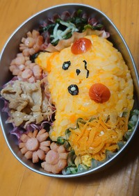 ピカチュウ弁当(娘3歳のお弁当会)