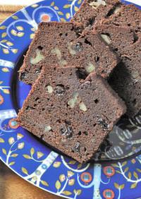 低糖質ショコラパウンドケーキ