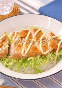 ガーリックマヨとんてき丼