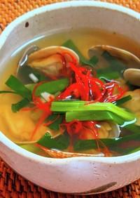 チョゲタン(アサリのスープ)
