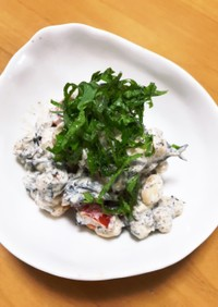 大豆とひじきのマヨサラダ☆.。.:*・