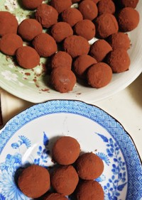 ちょっとビターな簡単絶品生チョコトリュフ