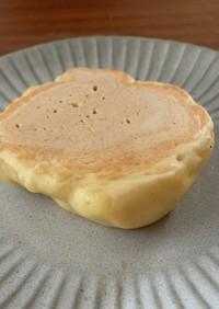 牛乳なし薄力粉から♡豆腐のホットケーキ