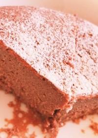 炊飯器で作るチョコレートケーキ