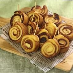 ぐるぐる♪パンみみフレンチトースト༅ミニ