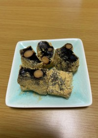 黒豆のわらび餅