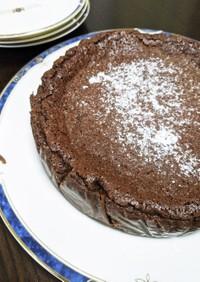 しっとり濃厚チョコレートチーズケーキ