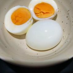 時間有効活用ゆで卵