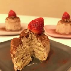 卵・乳不使用♡ビスケットチョコケーキ