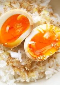 少ない調味料で!煮卵♪ご飯とあわせて絶品