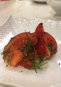 フルーツトマトと苺のサラダ