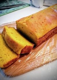 HMで簡単☆かぼちゃパウンドケーキ
