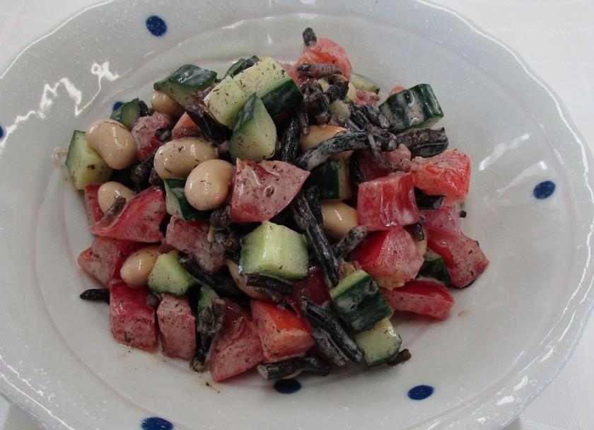コロコロ野菜と大豆のサラダ