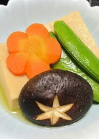 簡単和食の一品・高野豆腐の煮物・ヘルシー