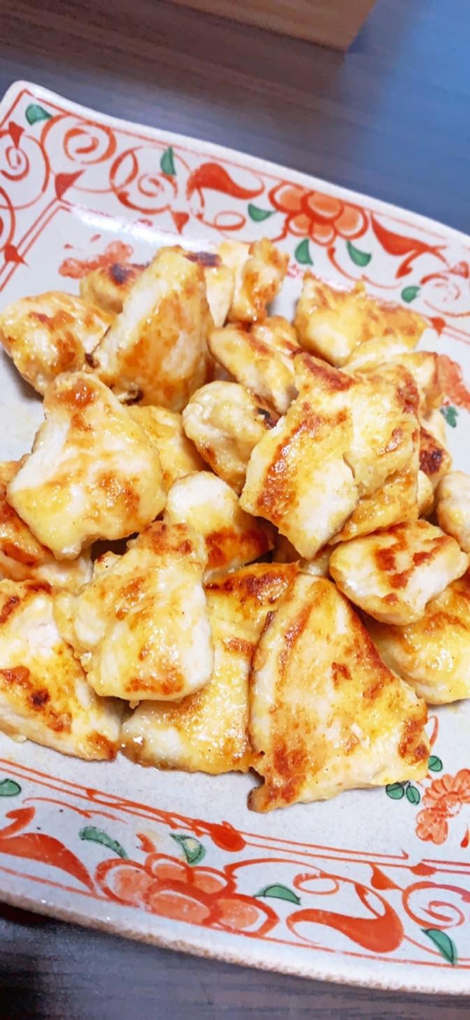 簡単鶏胸肉のなんちゃってタンドリーチキン