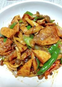 豚ロースと野菜のテンメンジャン炒め